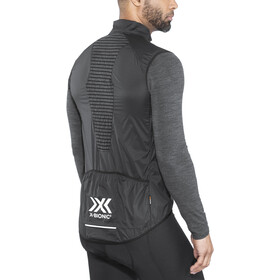 X-Bionic Biking Man Spherewind Pro Ow Vest Heren, black / white